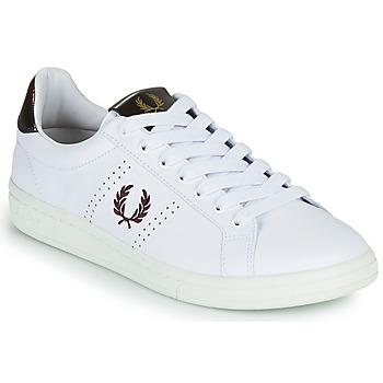 Topánky Muži Nízke tenisky Fred Perry B721 Biela