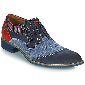 Topánky Muži Derbie Kdopa MONTMARTRE Modrá / Hnedá