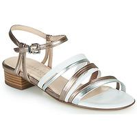 Topánky Ženy Sandále Peter Kaiser PATIA Bronzová / Biela