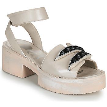 Topánky Ženy Sandále Papucei AMON Béžová