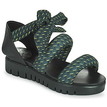 Topánky Ženy Sandále Papucei LILLA Modrá / Čierna