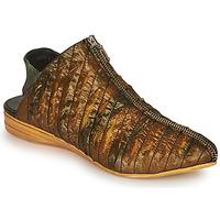 Topánky Ženy Sandále Papucei LARISA Čierna / Zlatá