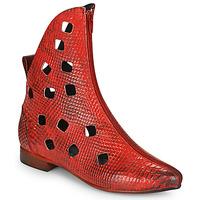 Topánky Ženy Polokozačky Papucei SAKURA Červená