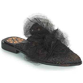 Topánky Ženy Šľapky Papucei WILLOW Čierna