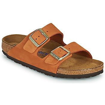 Topánky Ženy Šľapky Birkenstock ARIZONA SFB Oranžová