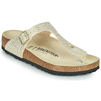 Topánky Ženy Žabky Birkenstock GIZEH Zlatá