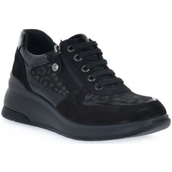Topánky Ženy Nízke tenisky Enval LEOL NERO Nero