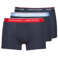 Spodná bielizeň Muži Boxerky Tommy Hilfiger TRUNK X3 Námornícka modrá