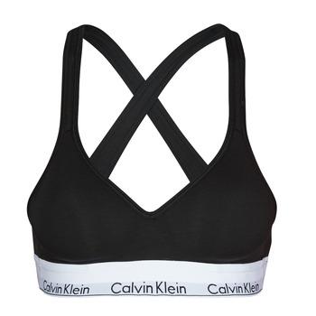 Spodná bielizeň Ženy Športové Calvin Klein Jeans MODERN COTTON BRALETTE LIFT Čierna
