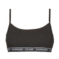 Spodná bielizeň Ženy Športové Calvin Klein Jeans UNLINED BRALETTE Čierna