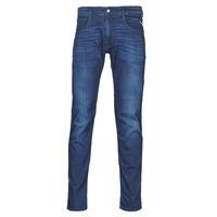 Oblečenie Muži Rifle Slim  Replay ANBASS Pants Modrá / Medium