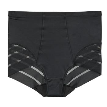 Spodná bielizeň Ženy Klasické nohavičky DIM DIAM'S CONTROL CULOTTE HAUTE Čierna
