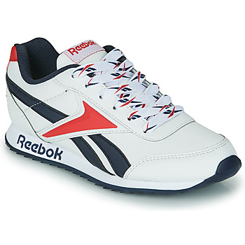 Topánky Deti Nízke tenisky Reebok Classic REEBOK ROYAL CLJOG 2 Biela / Námornícka modrá / Červená