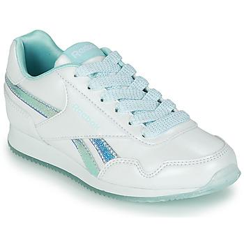 Topánky Dievčatá Nízke tenisky Reebok Classic REEBOK ROYAL CLJOG 3.0 Biela / Modrá