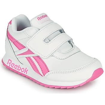 Topánky Dievčatá Nízke tenisky Reebok Classic REEBOK ROYAL CLJOG 2 KC Biela / Ružová