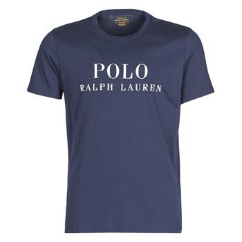 Oblečenie Muži Tričká s krátkym rukávom Polo Ralph Lauren SS CREW Námornícka modrá