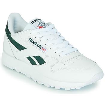 Topánky Nízke tenisky Reebok Classic CL LTHR Biela / Zelená