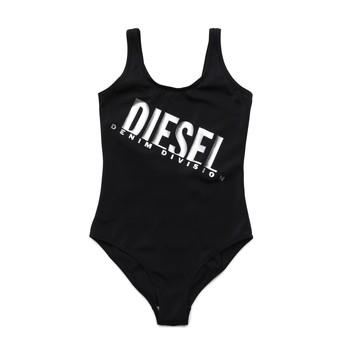 Oblečenie Dievčatá Plavky jednodielne Diesel MIELL Čierna