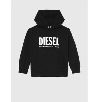 Oblečenie Deti Mikiny Diesel SDIVISION LOGO Čierna