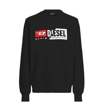 Oblečenie Deti Mikiny Diesel SGIRKCUTY Čierna
