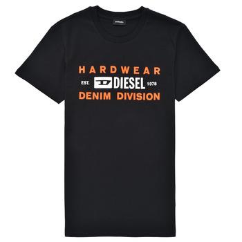 Oblečenie Chlapci Tričká s krátkym rukávom Diesel TDIEGOSK32 Čierna