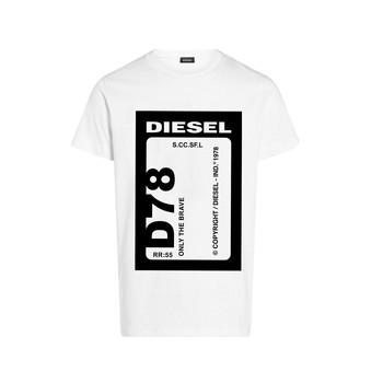 Oblečenie Chlapci Tričká s krátkym rukávom Diesel TFULL78 Biela