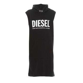 Oblečenie Dievčatá Krátke šaty Diesel DILSET Čierna