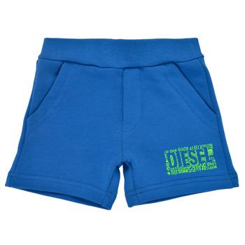 Oblečenie Chlapci Šortky a bermudy Diesel POSTYB Modrá