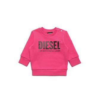 Oblečenie Dievčatá Mikiny Diesel SCREWDIVISION LOGOB Ružová