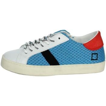 Topánky Deti Nízke tenisky Date J301 White/Light Blue