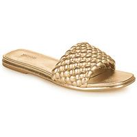 Topánky Ženy Šľapky MICHAEL Michael Kors AMELIA FLAT SANDAL Zlatá