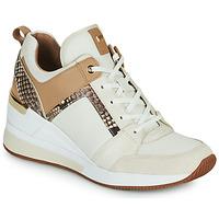 Topánky Ženy Nízke tenisky MICHAEL Michael Kors GEORGIE TRAINER Béžová