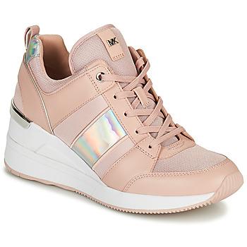 Topánky Ženy Nízke tenisky MICHAEL Michael Kors GEORGIE TRAINER Ružová