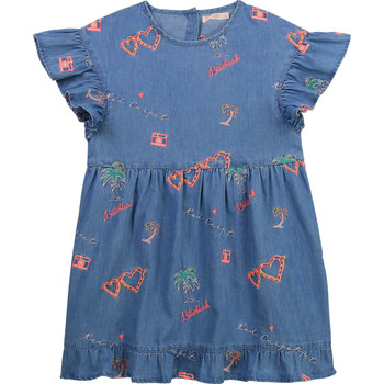 Oblečenie Dievčatá Krátke šaty Billieblush / Billybandit U12640-Z10 Modrá