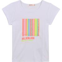 Oblečenie Dievčatá Tričká s krátkym rukávom Billieblush / Billybandit U15857-10B Biela