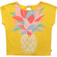Oblečenie Dievčatá Tričká s krátkym rukávom Billieblush / Billybandit U15873-548 Žltá