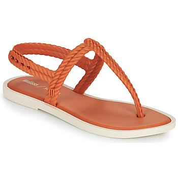 Topánky Ženy Žabky Melissa FLASH SANDAL & SALINAS Oranžová / Béžová
