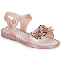Topánky Dievčatá Sandále Melissa MEL MAR SANDAL FLY Ružová / Zlatá