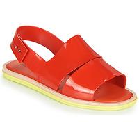 Topánky Ženy Sandále Melissa CARBON Červená