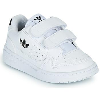 Topánky Deti Nízke tenisky adidas Originals NY 92 CF I Biela / Čierna
