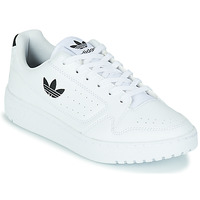 Topánky Deti Nízke tenisky adidas Originals NY 92 J Biela / Čierna