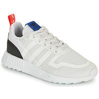 Topánky Deti Nízke tenisky adidas Originals SMOOTH RUNNER C Biela / Čierna