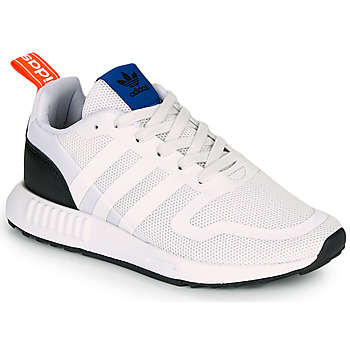 Topánky Deti Nízke tenisky adidas Originals SMOOTH RUNNER J Biela / Čierna