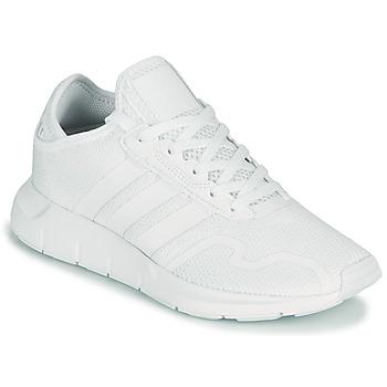 Topánky Deti Nízke tenisky adidas Originals SWIFT RUN X J Biela