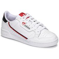 Topánky Ženy Nízke tenisky adidas Originals CONTINENTAL 80 Biela / Červená