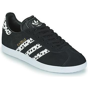 Topánky Ženy Nízke tenisky adidas Originals GAZELLE W Čierna / Biela