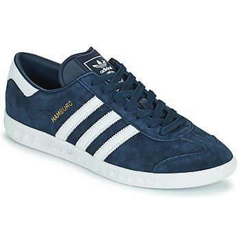 Topánky Muži Nízke tenisky adidas Originals HAMBURG Námornícka modrá