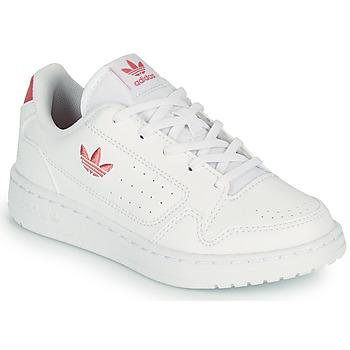 Topánky Deti Nízke tenisky adidas Originals NY 92 C Biela / Ružová