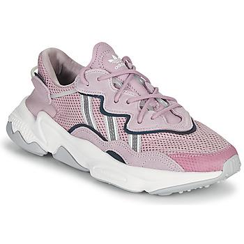 Topánky Ženy Nízke tenisky adidas Originals OZWEEGO W Fialová