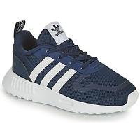 Topánky Deti Nízke tenisky adidas Originals SMOOTH RUNNER EL I Námornícka modrá / Biela
